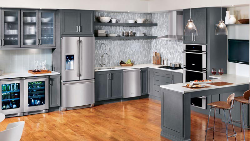 Space Saver Kitchen Design