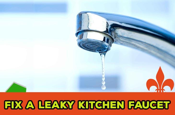 Fix a Leaky Kitchen Faucet