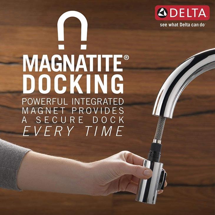 Magnetite Special Docking System