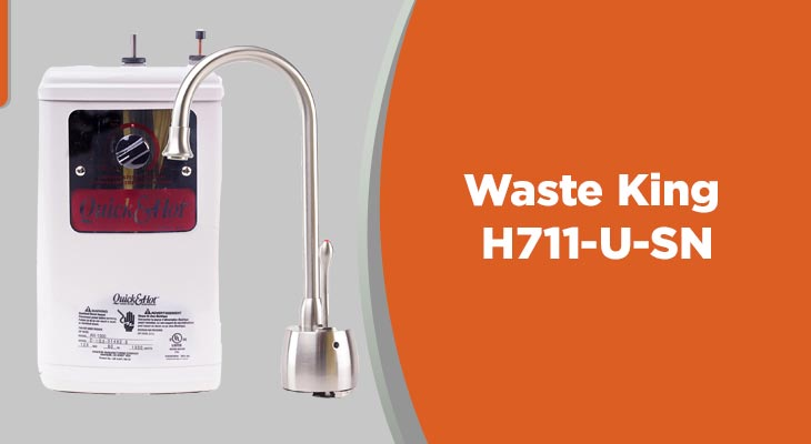 Waste King Quick and Hot H711-U-SN Water Dispenser Tanks and Faucet,MediumWaste King Quick and Hot H711-U-SN Water Dispenser Tanks and Faucet,Medium