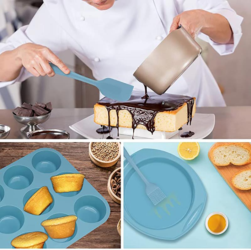 Clean Silicone Bakeware