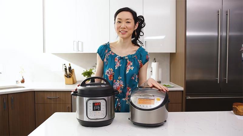 Comparison Between Instant Pot vs Rice Cooke