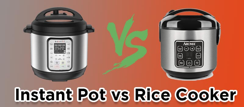 Instant Pot vs Rice Cooker